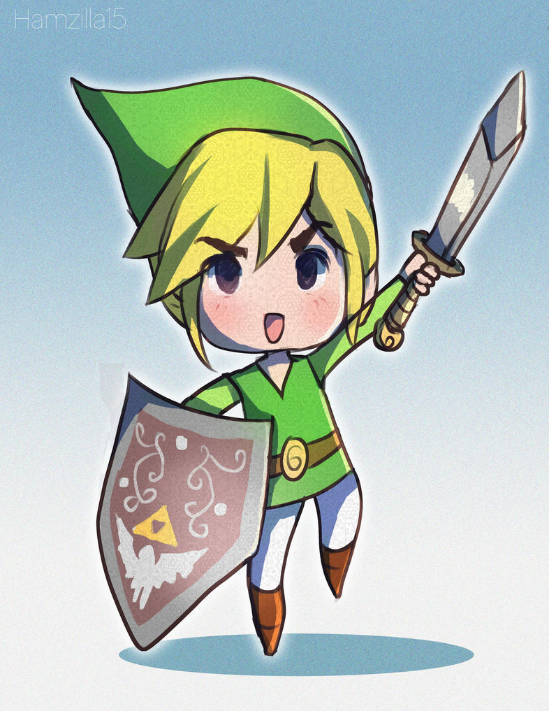 Commission art of Toon Link by Hamzilla15