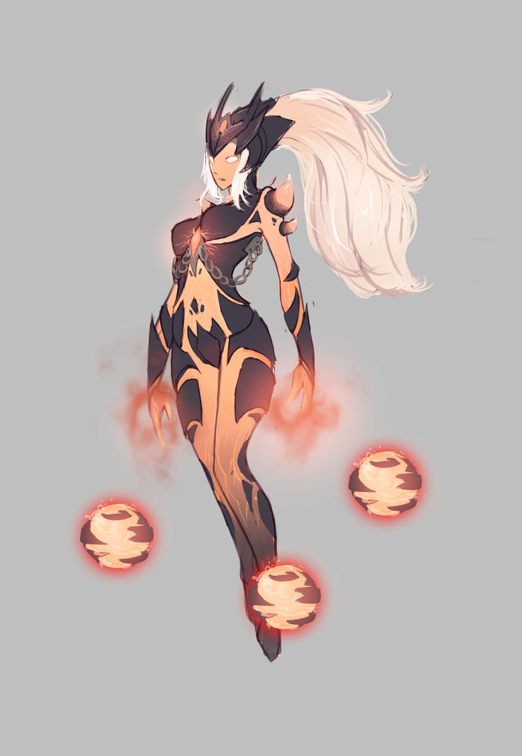 Syndra concept by Hamz...