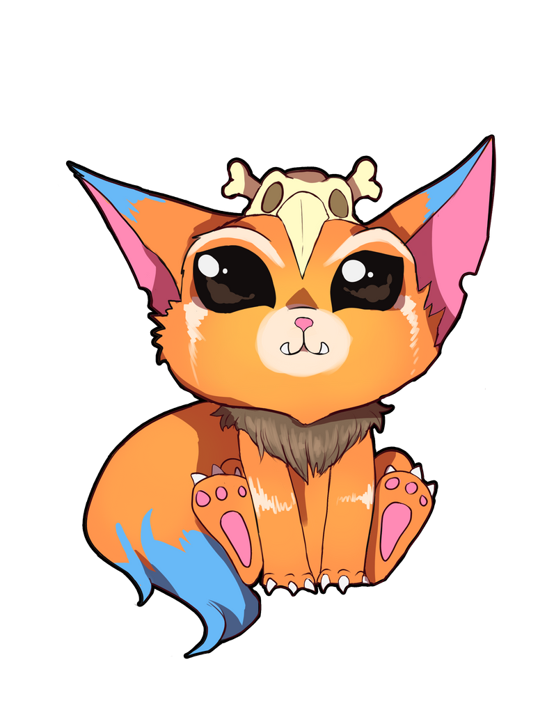 Gnar league of legends fan art by Hamzilla15 on DeviantArt
