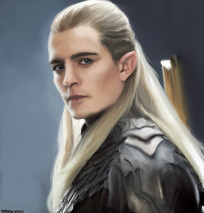 Legolas Wallpaper: Legolas By Lilmuri On DeviantArt