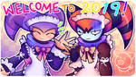 WELCOME TO 2019 by DP-draws-stuff