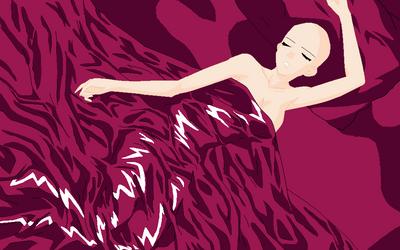 Rosario vampire inner Moka Base bed