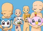 Digimon gang base