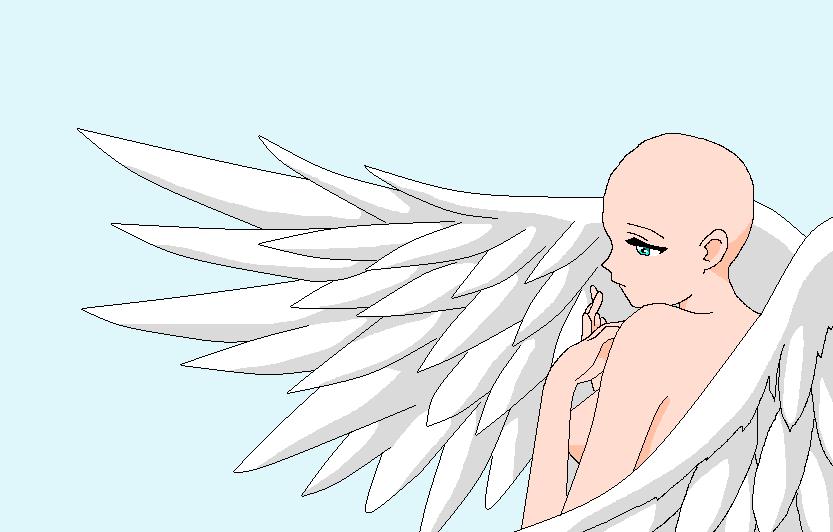 Base angel by HeroHeart001 on DeviantArt