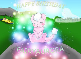 Happy Birthday FairyAurora Cutemon cuteness