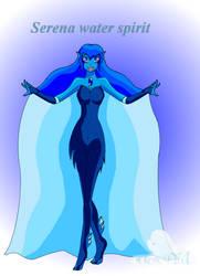 Goddess Light Serena water Spirit