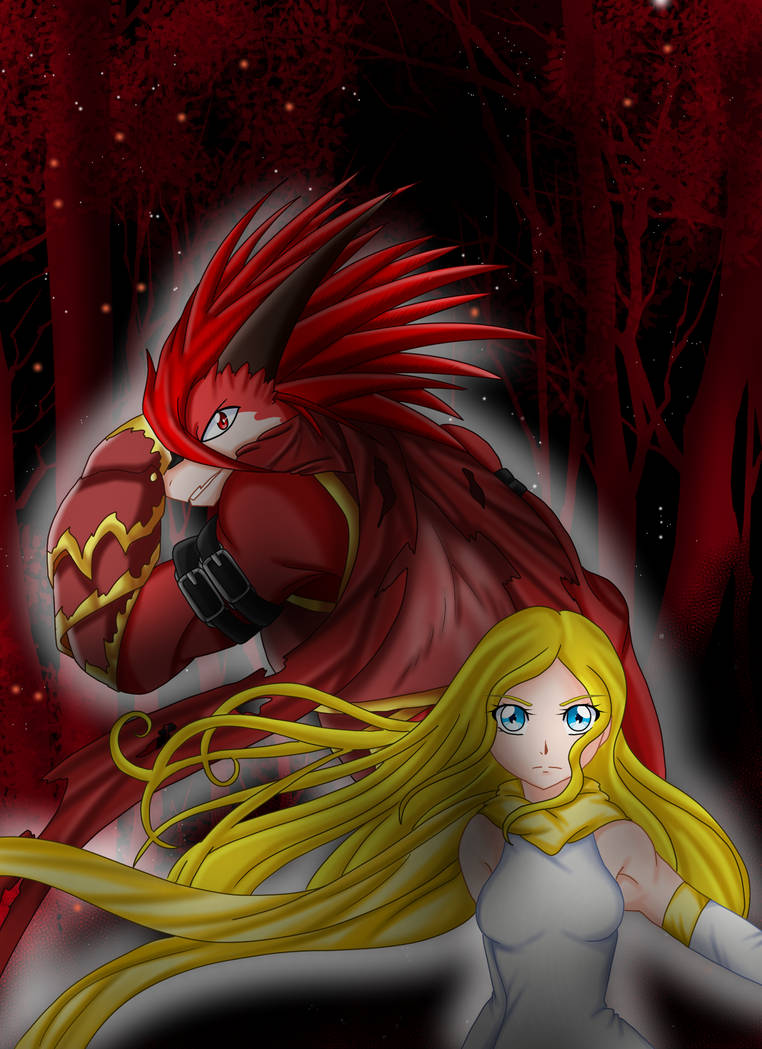 Fire Knight dragon Arok and His Hero