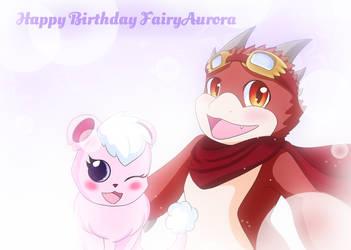 Happy birthday Fairyaruora 2021