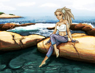 By the Sea... by Deltethnia