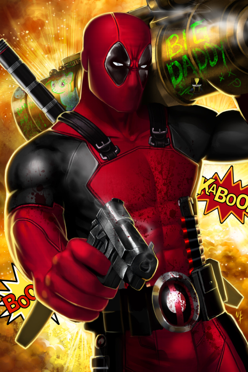 Deadpool by Nazuroth