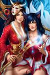 Ahri and Akali