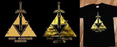 Legend of Zelda BOTW Tshirt by Nazuroth