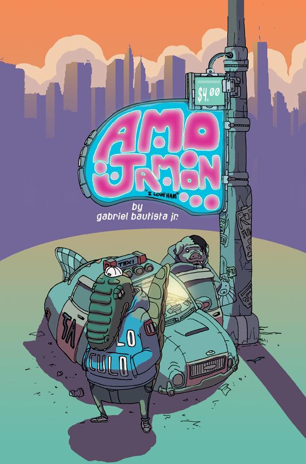 AMO JAMON cover.
