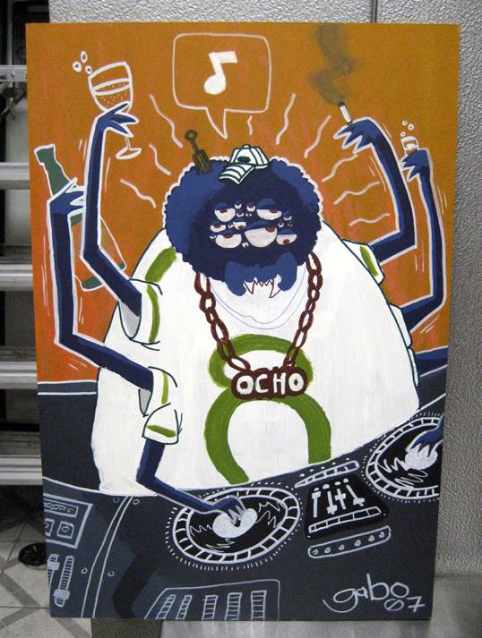 DJ EL OCHO by galvo