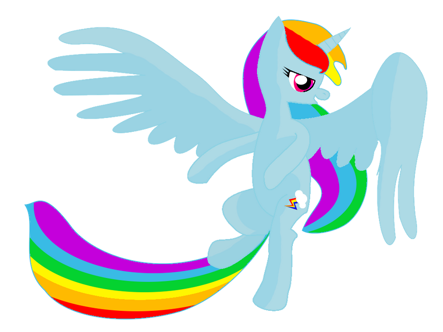 Rainbow Dash Alicorn Princess   www.imgkid.com - The Image ...
