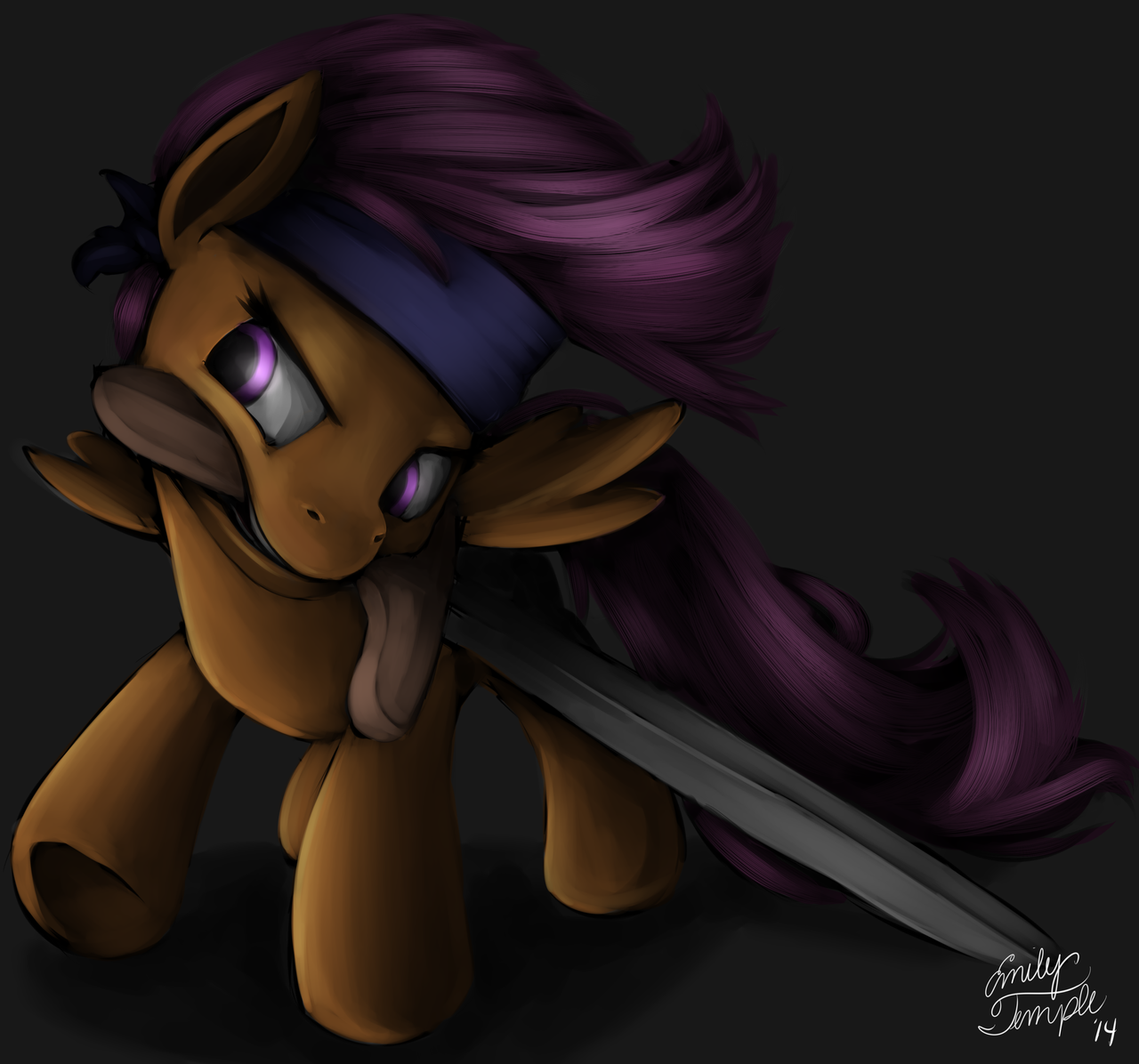 Scootaloo goes Crusading by BellalyseWinchester
