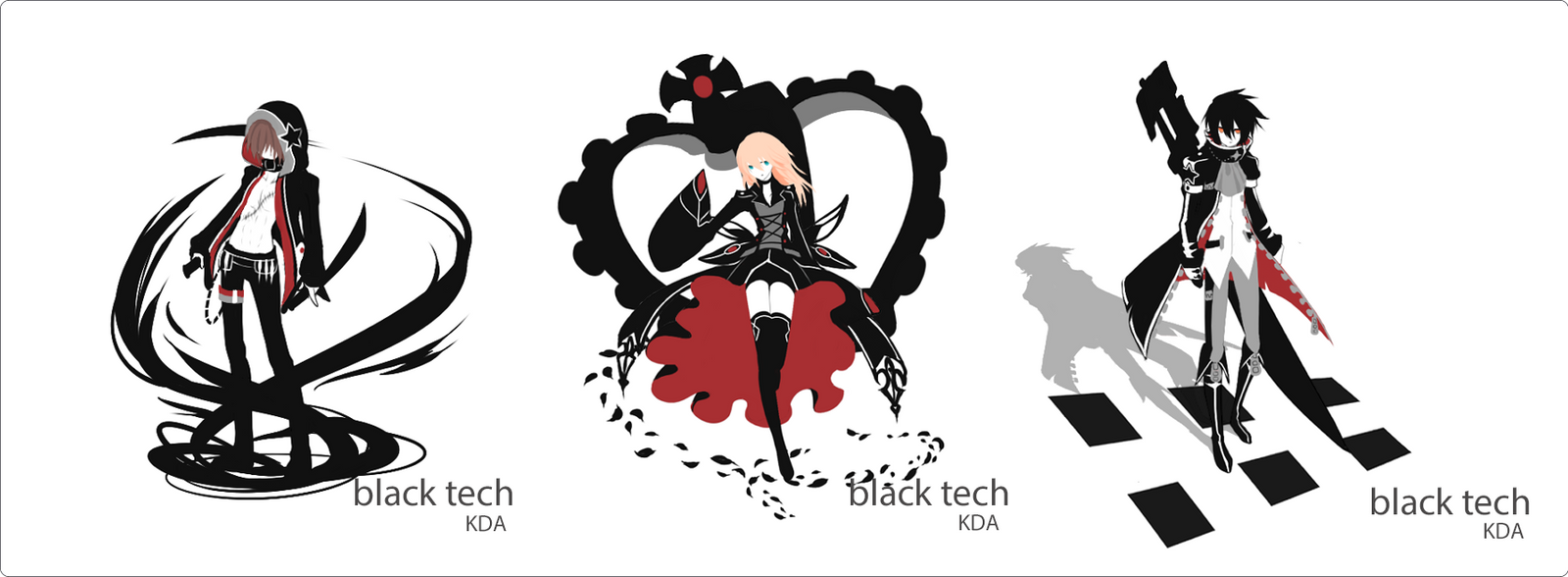 Black tech: Batch 1 references by Toeiya