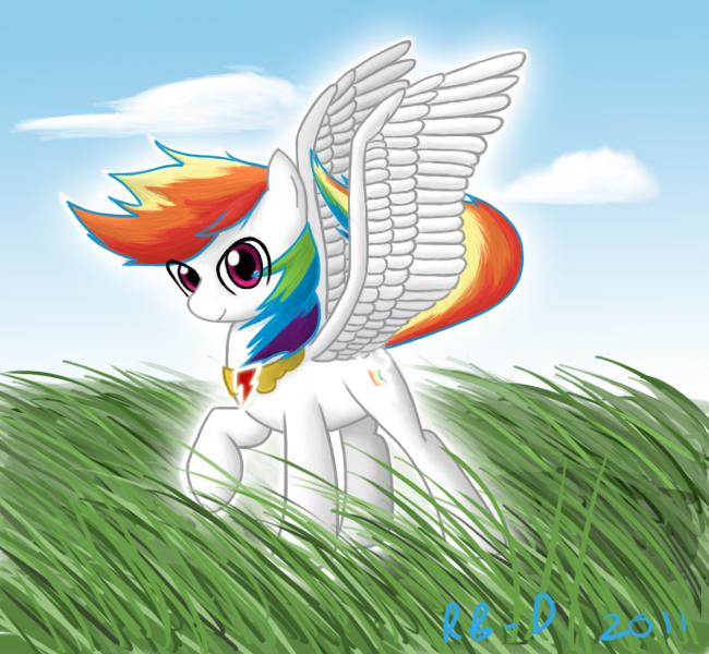 Super Rainbow Dash By RB-D On DeviantArt