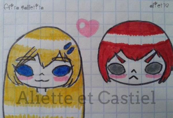 Aliette y Castiel by ElisaGalletita