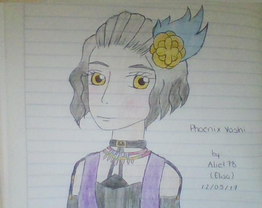 Dibujito para Phoenix Yoshi by ElisaGalletita