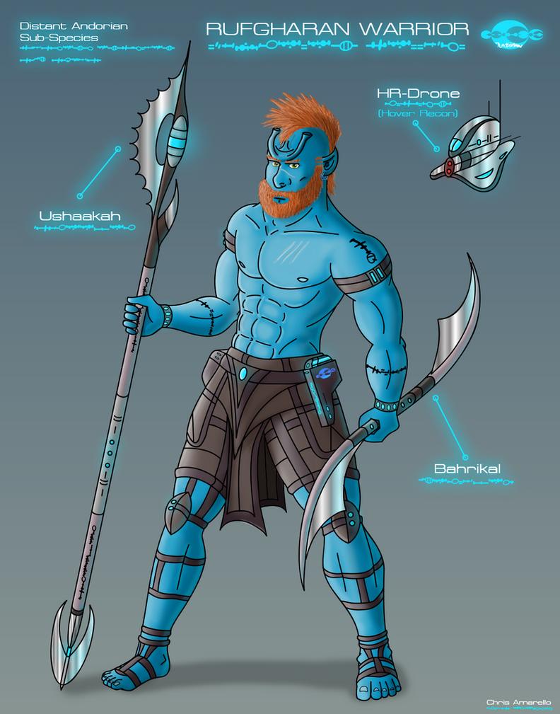 Rufgharan Character Concept by Koruk
