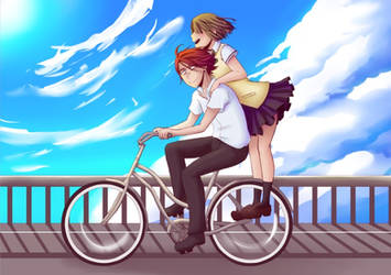 bike date by rachelmon