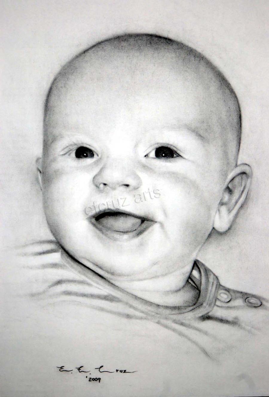 BABY PORTRAIT DRAWING by efcruz on DeviantArt