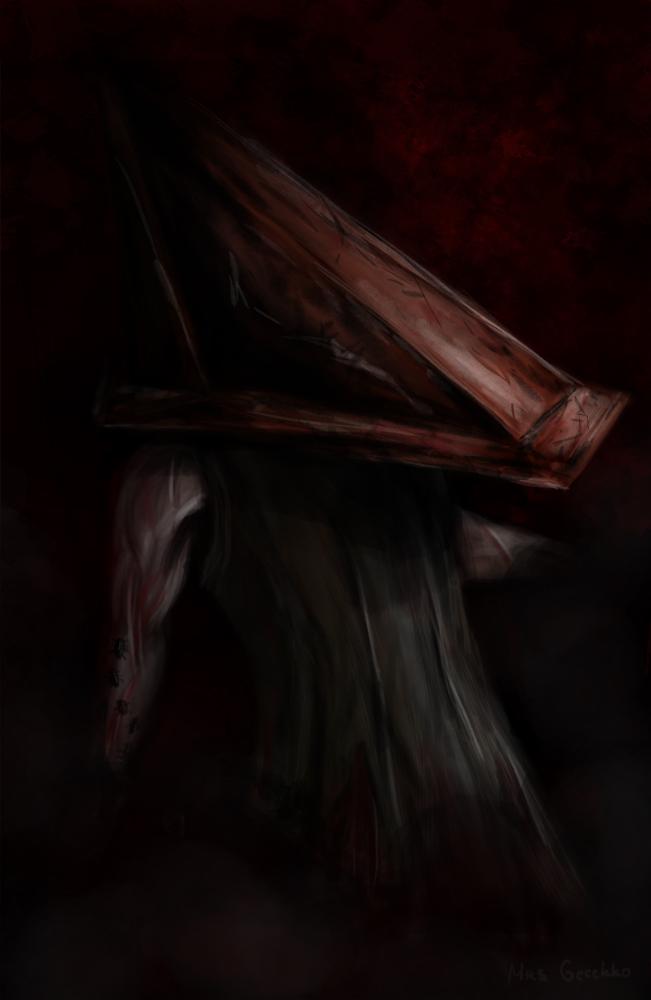 Pyramid Head by Ne-Dremlet
