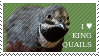 I love King Quails Stamp by FeatherpantsD