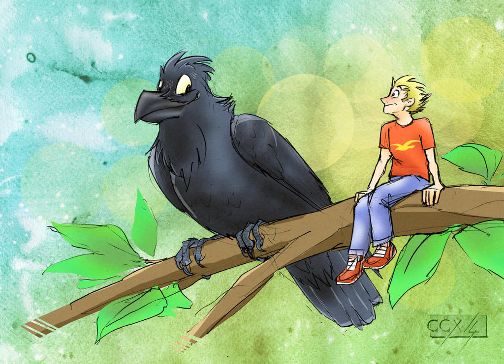 Sitting on a branch... Oh Yeah by FeatherpantsD