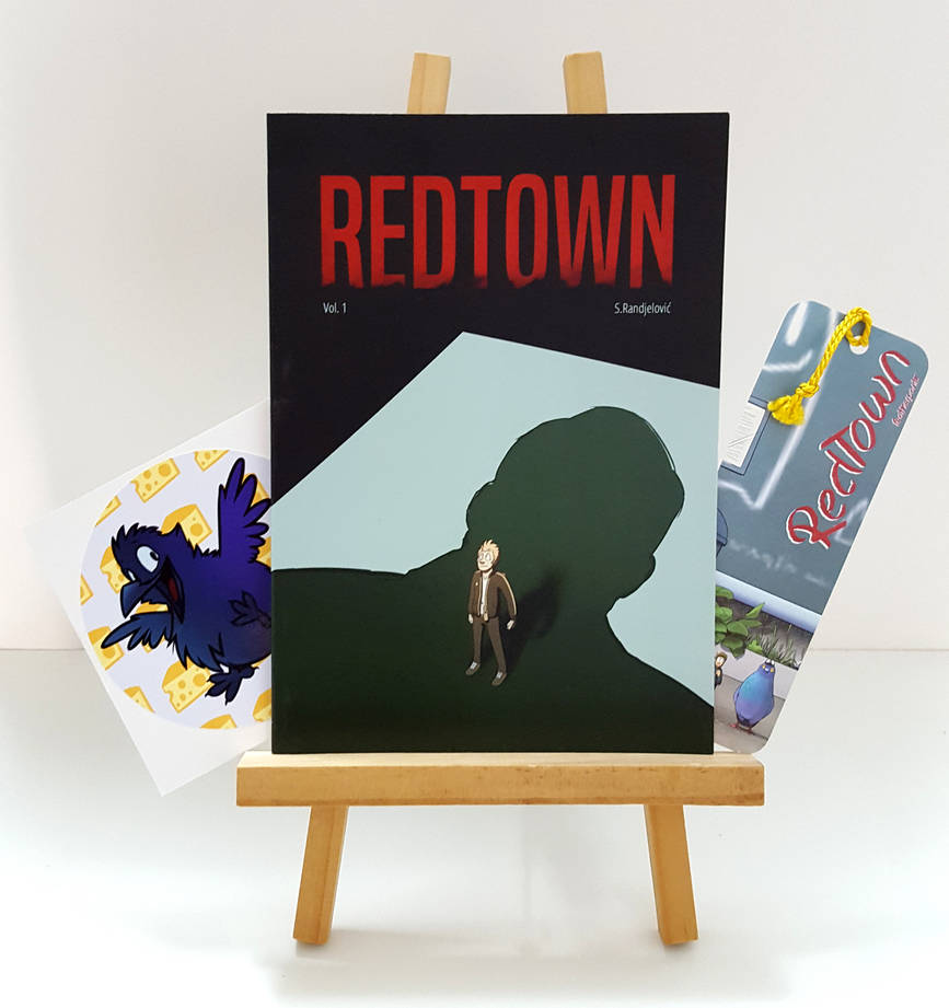 Redtowncomic by TinyFeatherpants