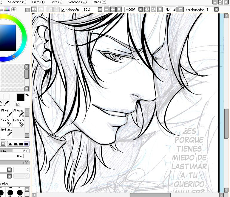 WIP Lymbus Manga1 by Tabe-chan
