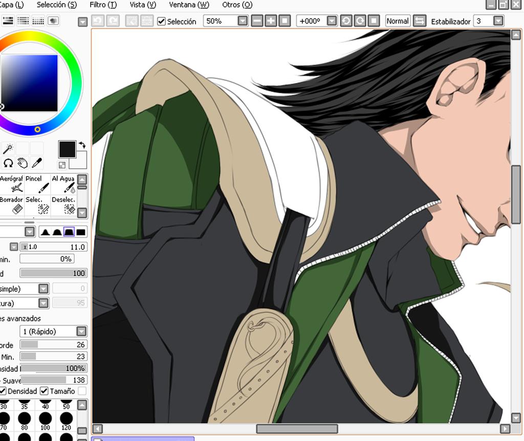 Loki WIP by Tabe-chan