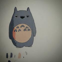 14-09-2015 Totoro Painting