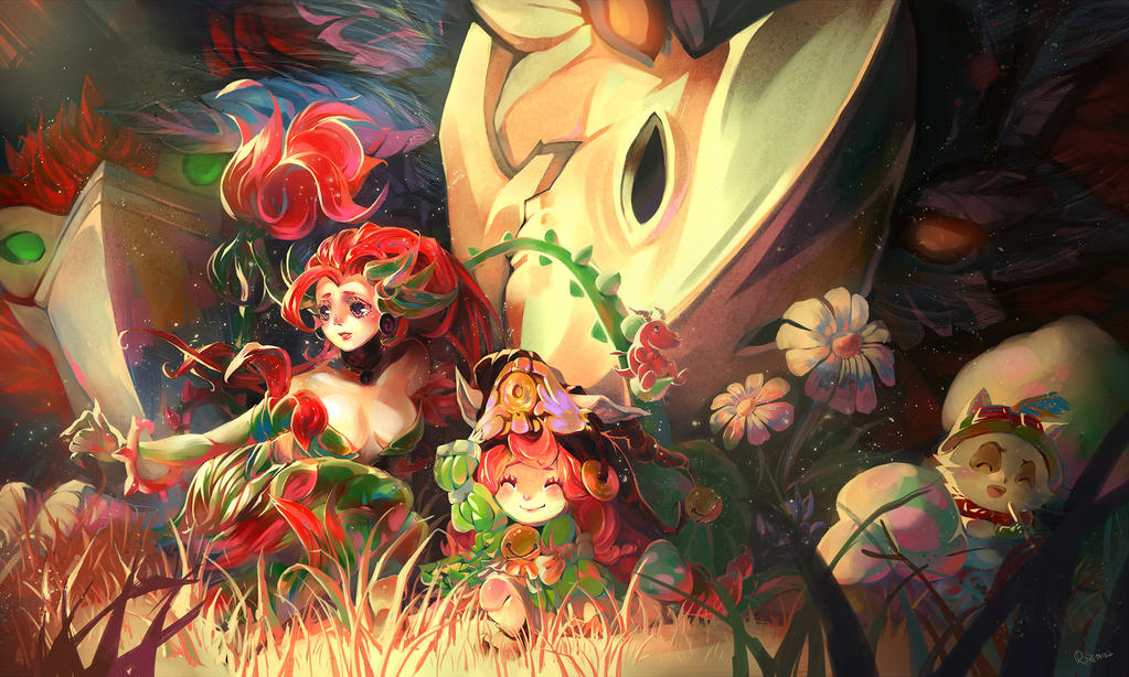 Teemo's Secret Garden by rozemira