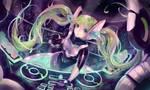 Commission: Kinetic DJ Sona