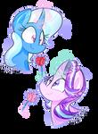 Roses For Two (Speedpaint)