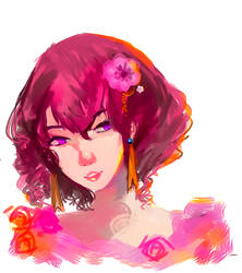 Yona doodle by DaisukiFlandre