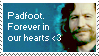 Padfoot - stamp by marauder-padfoot