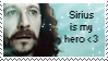 Sirius Black - stamp by marauder-padfoot