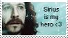 Sirius Black - stamp by marauder-padfoot