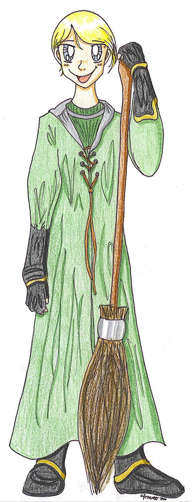 Draco Malfoy by melodythelittlepony