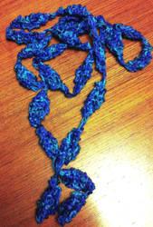 Knitted Necklace by AKKerani