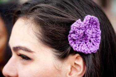 AK Kerani Flower Hair Clip by AKKerani