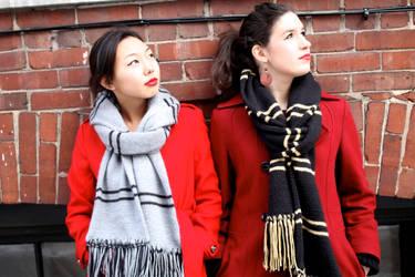 AK Kerani Winter Collection Scarves by AKKerani