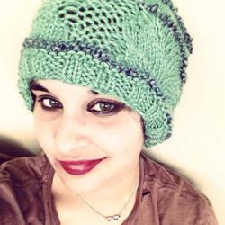 Mint Green Hat by AKKerani
