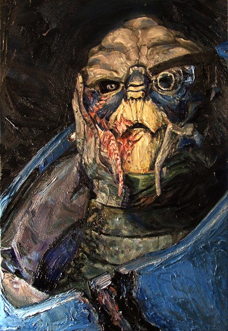 Mass Effect Oils -Garrus- by SeanDonaldson