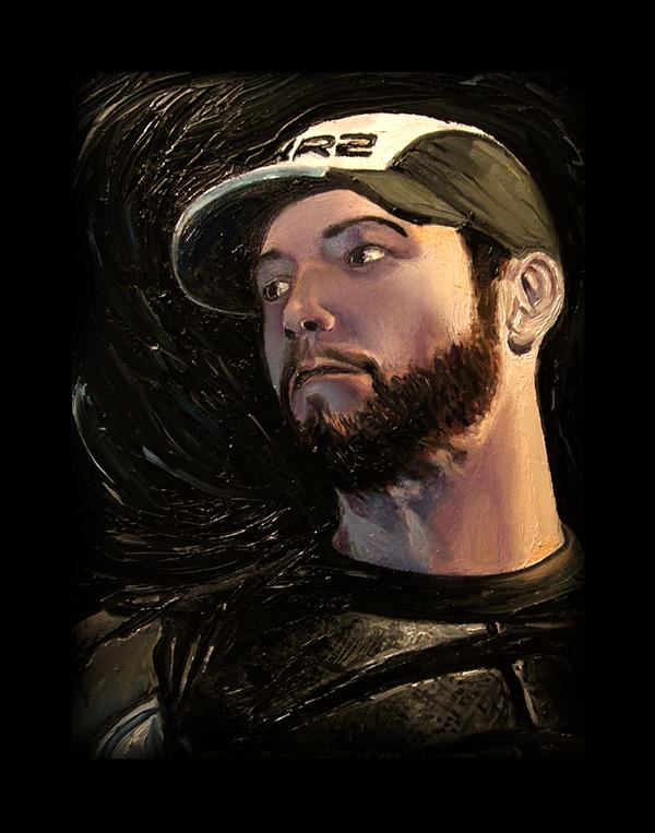 Mass Effect Oils -Joker- by SeanDonaldson