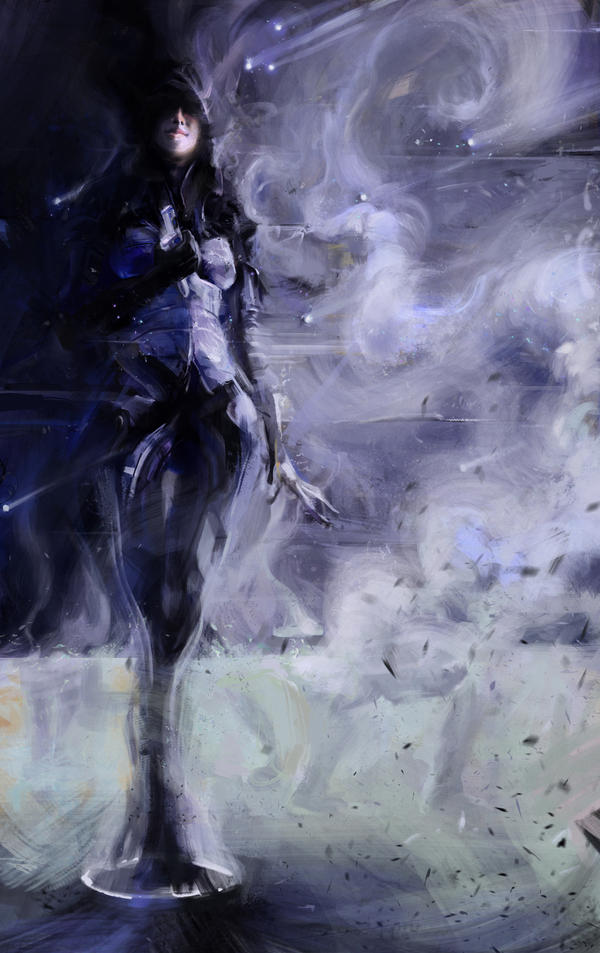 -Kasumi- Smoking Memory 2.0 by SeanDonaldson