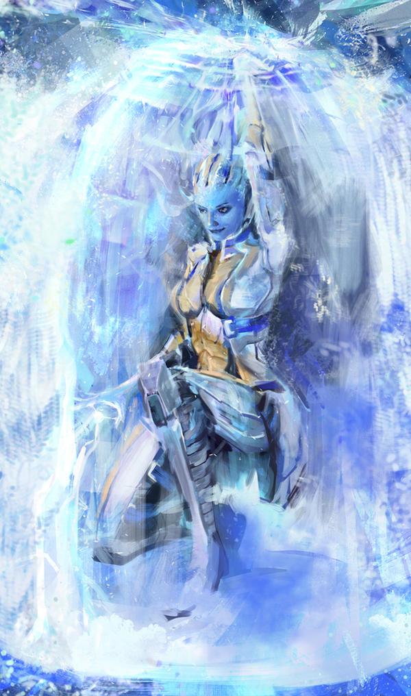 -Liara- Biotic Shield 2.0
